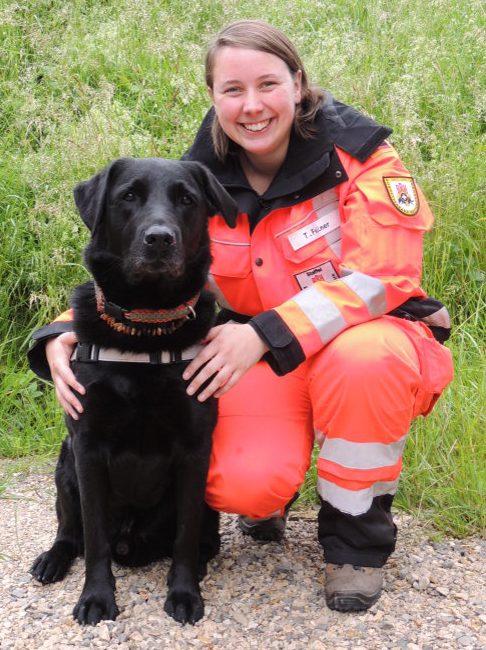 Rettungshundeteam Tatjana und Mephisto