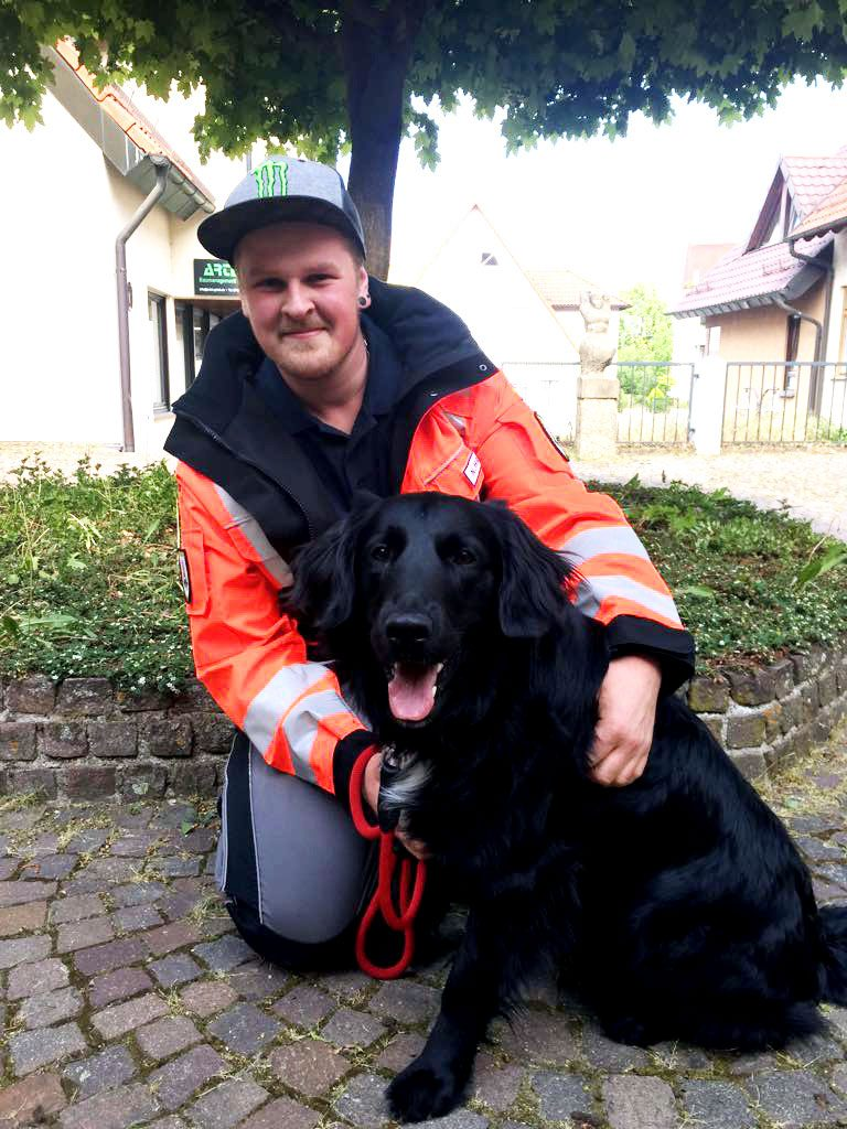 Rettungshundeteam Nico und Nero