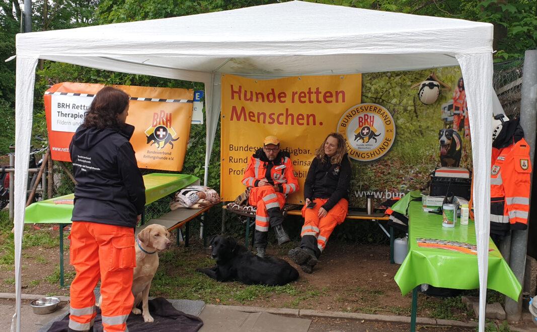 Unser Infostand - Tierheimfest Esslingen 2019
