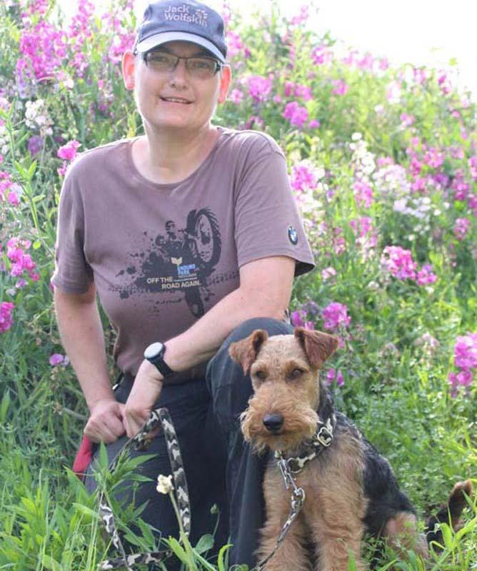 Rettungshundeteam Mirjam und Gilmor